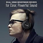 Panasonic Over-The-Ear Stereo Headphones RP-HF100-K