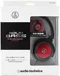 Audio Technica Audio Technica Aud Athws55Brd Solid Bass Over-Ear Headphones Headphones