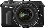 Canon EOS-M (Body with 18-55 mm Lens) Body with 18-55 mm Lens Mirrorless Camera