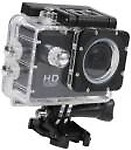 ALONZO 1080P Sports Camera Ultra HD Waterproof DV Camcorder 12MP 170 Degree Wide Angle Sports and Action Camera( 12 MP)