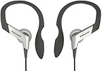Panasonic Clip Type Earphone Headphones for iPods, MP3 RP-HS6E-S