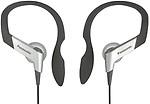 Panasonic Clip Type Earphone Headphones for iPods, MP3 RP-HS6E-S
