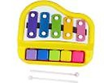 Honeybun 2 In 1 Piano Xylophone Educational Musical Instruments8 Key Scales for Clear Tones