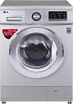 LG 8 kg Inverter, Smart diagnosis system Fully Automatic Front Load Washing Machine with In-built Heater Silver  (FH2G6TDNL42