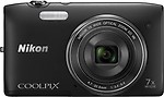 Nikon Coolpix S3500 4.7 - 32.9mm Point & Shoot Camera