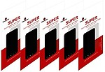 Pack Of 5 Screenward Screen Protector for HTC Sensation 4G