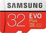 Samsung EVO Plus 32 GB MicroSDHC Class 10 95 MB/s Memory Card