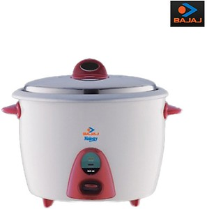 Bajaj Majesty RCX 21 1.8-Litre 550-Watt Rice Cooker price in India.