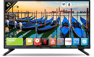 Thomson UD9 108cm (43 inch) Ultra HD (4K) LED Smart TV(43TH6000) price in India.