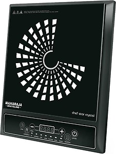 Maharaja Whiteline IC-109 Induction Cooktop  (Black, Push Button) price in India.