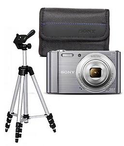 Sony Cybershot DSC-W810/SC 20.1MP Digital Camera (Silver) price in India.