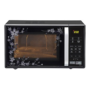 LG 21 L Convection Microwave Oven  (MC2144CP, Black) price in India.