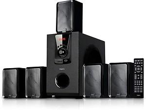 Impex Santo Bluetooth Home Theatre(Black, 5.1 Channel) price in India.