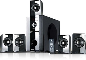 Impex RHYTHM B 45 W Bluetooth Home Theatre  (Black, 5.1 Channel) price in India.