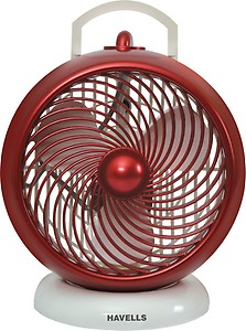 Havells I-Cool 175 mm Personal Fan (White/Maroon) price in India.