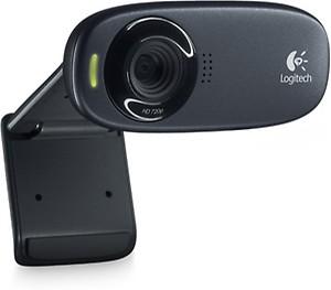 Logitech C310 HD Webcam (Black) price in India.