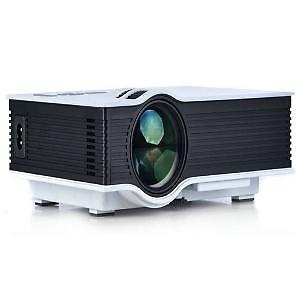 Unic UC40 Has HDMI, AV, USB Ports Projector (800X480 High Resolution) price in India.
