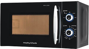 Morphy Richards 20 L Solo Microwave Oven  (20MS, Black) price in India.