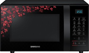 Samsung 21 L Convection Microwave Oven  (CE77JD-SB/XTL, Black Sanganeri Pattern) price in India.