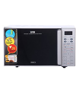IFB 25 L Convection Microwave Oven  (25SC3, Silver) price in India.