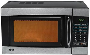 LG 20 L Grill Microwave Oven  (MH2046HB, Black) price in India.