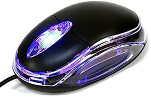 Terabyte WM-TB001 Wired Optical Mouse(USB, Black) price in India.
