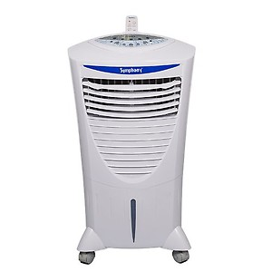 Symphony HiCool-i Modern Personal Room Air Cooler 31-litres, with Remote, Honeycomb Pad, Multi-Stage Air Purification & Low Power Consumption (White) price in India.
