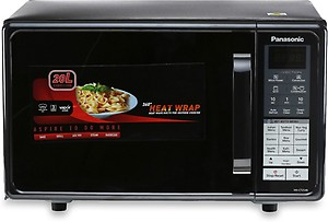 Panasonic 20 L Convection Microwave Oven(NN-CT254BFDG, Black) price in India.