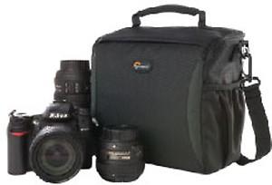 Lowepro Format 160 Camera Bag(Black) price in India.