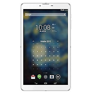 I Kall N1 Dual Sim 3G Calling Tablet 512 MB RAM 4 GB ROM 7 inch with Wi-Fi+3G Tablet (White) price in India.