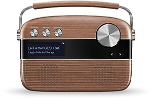 Saregama Carvaan SC02 Portable Digital Music Player with Remote Control (Porcelain White) price in India.