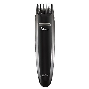 SYSKA HT200U Beard Pro Trimmer Runtime: 40 Mins Cordless Use (Black) price in India.
