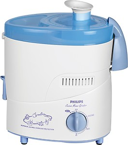 Philips HL1632 500 W Juicer Mixer Grinder(Blue, 3 Jars) price in India.