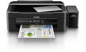 Epson L380 Multi-Function InkTank Colour Printer (Black) price in India.