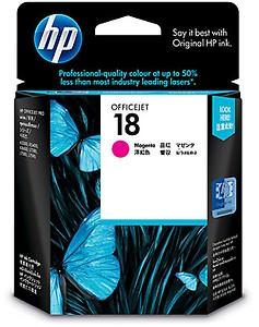 HP 18 Original Ink Cartridge, Magenta price in India.