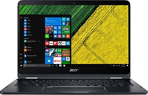 Acer Spin 7 Core i7 7th Gen - (8 GB/256 GB SSD/Windows 10 Home) SP714-51 Laptop  (14 inch, Black) price in India.