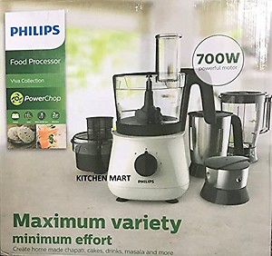 Philips Food Processor HL1661 700Watts with Chutney Jar price in India.