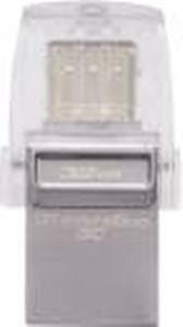 Kingston DataTraveler microDuo 3C Type C 32 GB Pen Drive  (Silver) price in India.