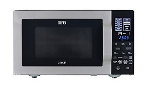 IFB 25 L Convection Microwave Oven  (25BCS1, Metallic Silver) price in India.