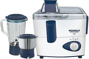 c12e1e75b0f Maharaja Whiteline JMG Real 450 W Juicer Mixer Grinder (Mystic Blue    White