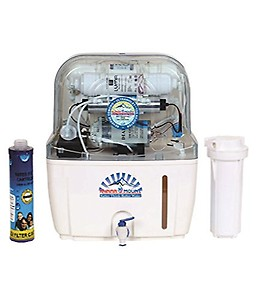 Grand Plus BLUE SWIFT 10 L RO + UV + UF + TDS Water Purifier(Blue) price in India.