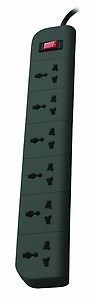 Belkin Essential Series F9E600zb2MGRY 6-Socket Surge Protector price in India.