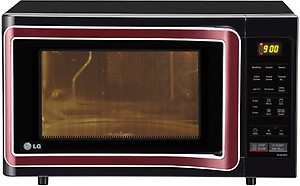 LG 28 L Convection Microwave Oven  (MC2844SPB, Black) price in India.