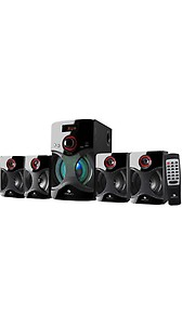 Zebronics BT4440 RUCF 60 Watt Bluetooth Home Theatre(Black, 4.1 Channel) price in India.