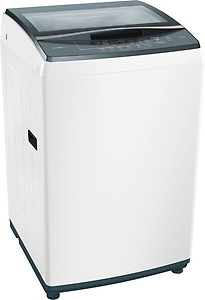 Bosch 7 kg Fully Automatic Top Load White(WOE704W0IN) price in India.