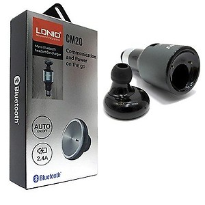 LDNIO 2 in 1 Bluetooth Headset + Car Charger price in India.