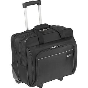 Targus TBR003US-72 15.6-inch Rolling Laptop Case (Black) price in India 7efc618e311f2