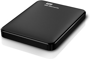 Western Digital Elements 1TB Portable External Hard Drive (Black) price in India.
