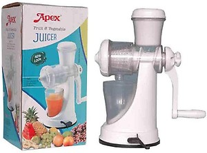 Apex Vegetable Juicer Plastic Hand Juicer price in India.