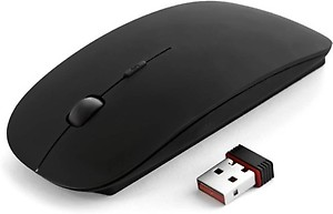 MyGear 2.4Ghz Ultra Slim Wireless Optical Mouse  (USB, Black) price in India.